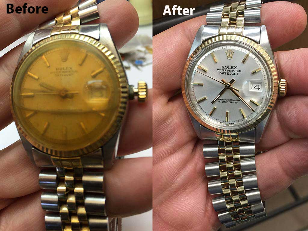 Rolex Repair of J Frank Muse, Business Consultant, South Padre Island, FL
