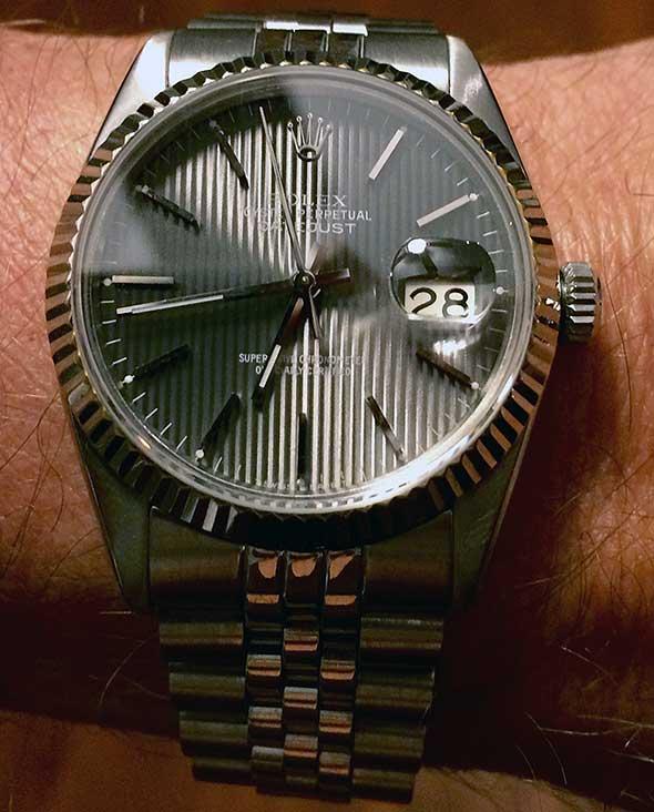 Rolex Repair Steven Nichols Testimonial - Lyndonville, Vermont - October 28th, 2015