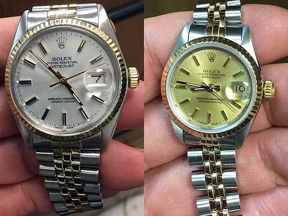Rolex Repair Professor Wayne Jones, University Louisville, Louisville, KY